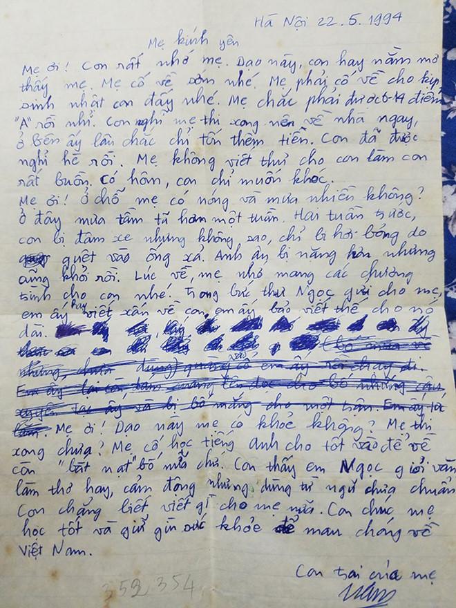 Mùa Vu lan: Những lá thư gửi mẹ