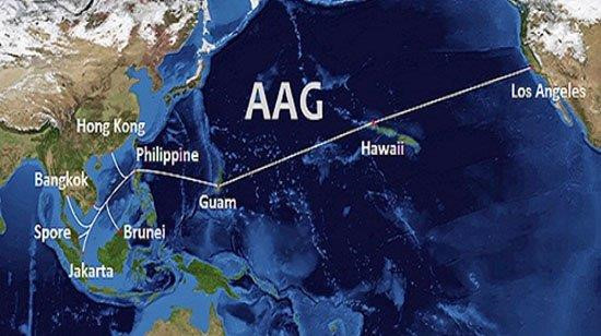 Cáp biển AAG gặp sự cố, sau lễ 2/9 mới khôi phục