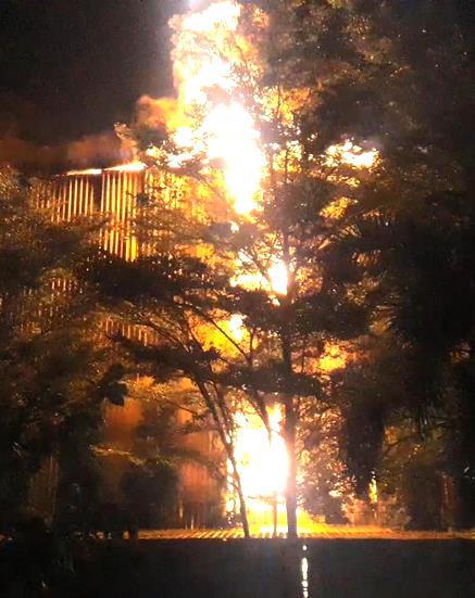 Công ty rộng 5.000 m2 bốc cháy sau tiếng nổ lớn