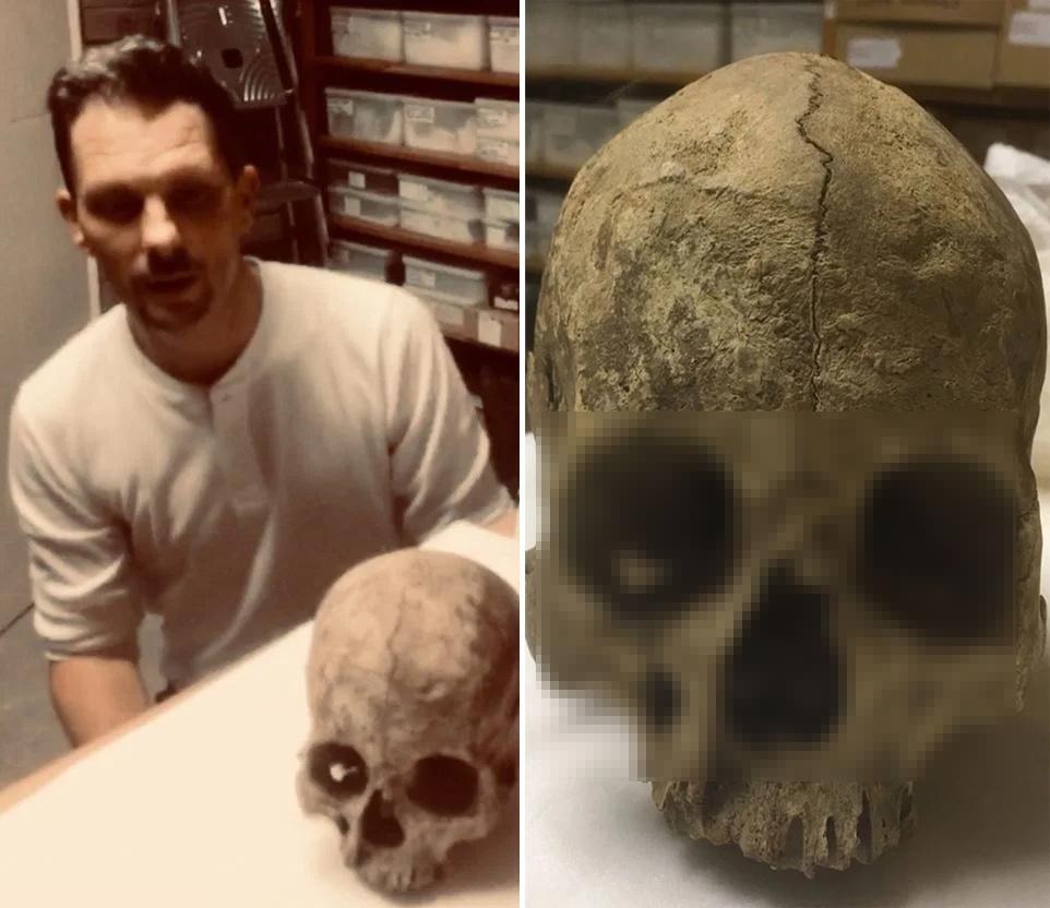 """""""Hộp sọ cổ nhất nước Anh"""" biến mất không dấu vết 40 năm bỗng xuất hiện trở lại"""