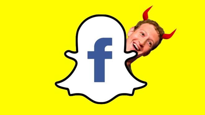 Bị đạo nhái nhiều năm, Snapchat sắp tung hồ sơ tội ác Facebook