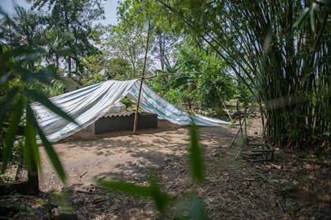 Anh hùng Nguyễn Văn Bảy sẽ an nghỉ dưới khóm tre vườn nhà