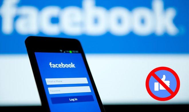 Facebook không hiện số lượt like như buổi diễn không có khán giả