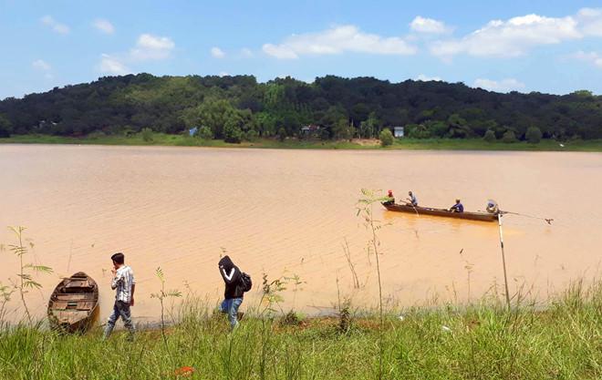 Tìm thấy thi thể 9X mất tích tại lòng hồ thủy điện Thác Mơ