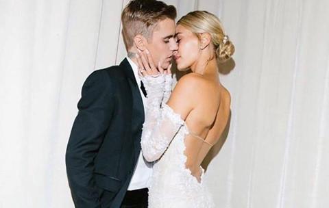 """Vợ Justin Bieber khoe ảnh cưới: """"Cho đến khi cái chết chia lìa đôi ta"""""""