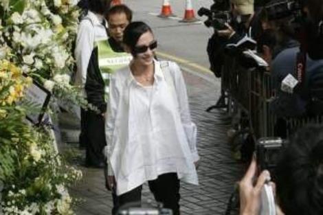 Trương Bá Chi bị chỉ trích vì cười ở tang lễ Mai Diễm Phương