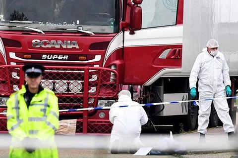 Bộ Công an công bố 39 người tử vong trong container ở Anh