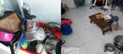 Nỗi khổ của người ở trọ chung: Nhà cửa không quét, bát đĩa bốc mùi