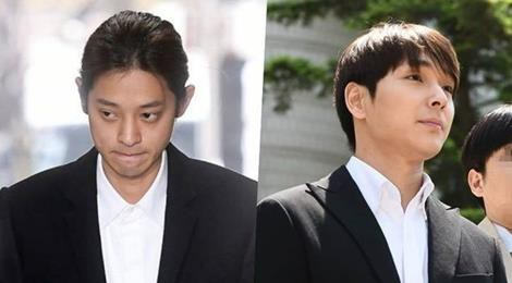 Hai thần tượng Hàn ngồi tù 6 năm vì cưỡng hiếp, quay lén video sex