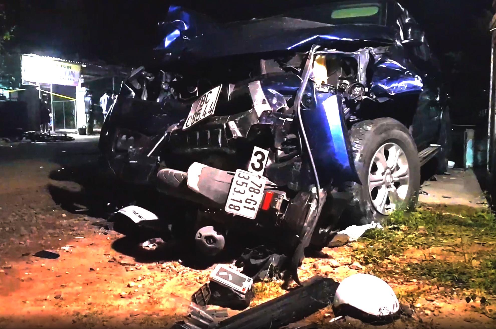 Tài xế chưa có bằng vẫn lái ôtô tông chết 4 người
