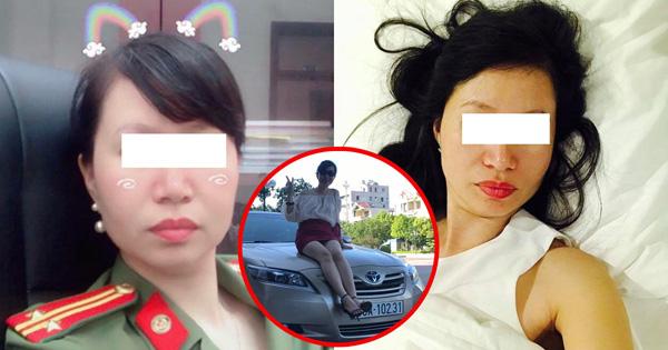 Nữ trung tá quỵt tiền taxi từng điều trị tâm thần
