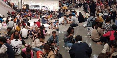 """Dân mạng ngao ngán trước hình ảnh trung tâm thương mại """"thất thủ"""""""