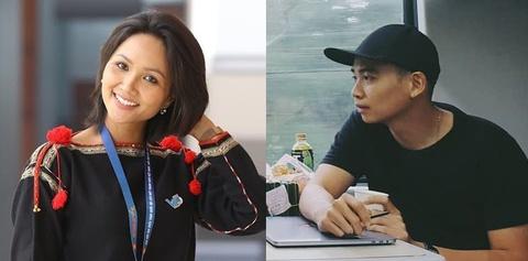 H'Hen Niê và bạn trai tin đồn bày tỏ tình cảm trên mạng xã hội