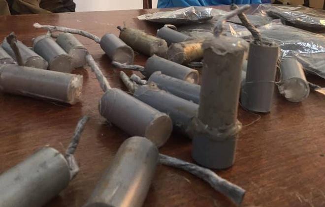 Nam sinh lớp 7 chế tạo pháo để bán