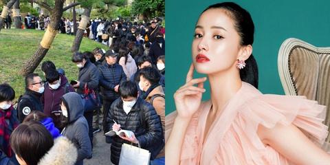 """1.000 người xếp hàng nghe tòa tuyên án """"Quốc bảo nhan sắc"""" Nhật Bản"""