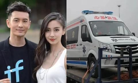 100 nghệ sĩ Trung Quốc tặng xe cứu thương chuyên dụng cho Vũ Hán