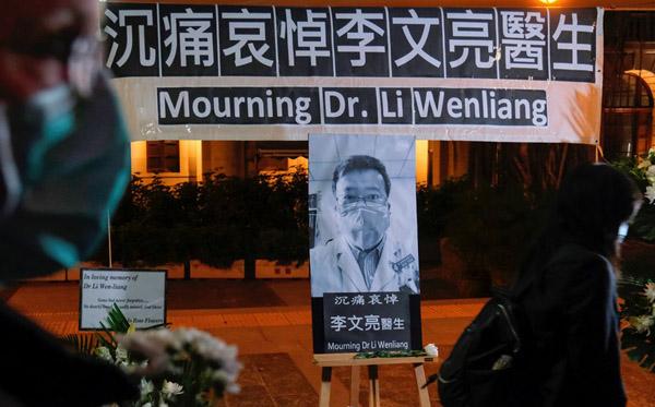 Dân TQ đau buồn sau cái chết của bác sĩ Lý Văn Lượng