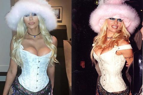 Kim Kardashian bị chỉ trích vì thích bắt chước