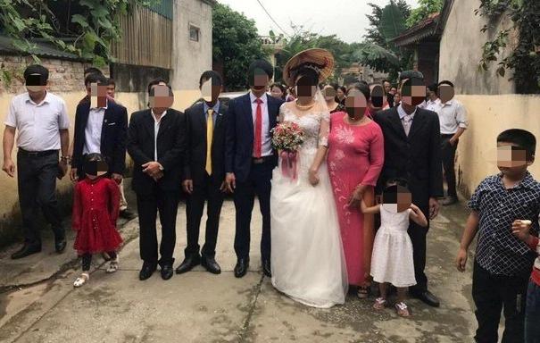 60 người dự tiệc cưới giữa mùa dịch Covid-19 ở Thanh Hóa