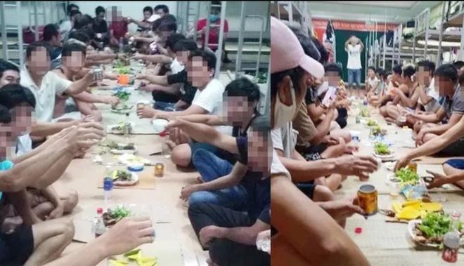 30 người tụ tập ăn uống trong khu cách ly