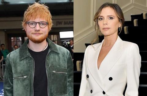 Ed Sheeran không xin tiền chính phủ như Victoria Beckham
