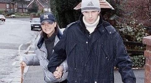 Victoria đăng ảnh chưa từng công bố với David Beckham