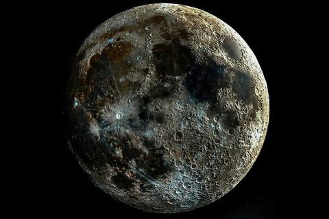 Hình ảnh chưa từng thấy của Mặt Trăng