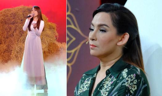 Phi Nhung nhắc nhở thí sinh vì mặc áo dài không tinh tế