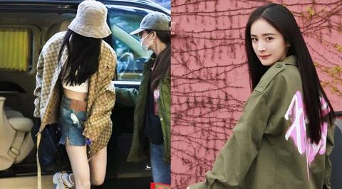 Dương Mịch lại mặc crop top, váy ngắn sau vụ bị chụp trộm ảnh nhạy cảm
