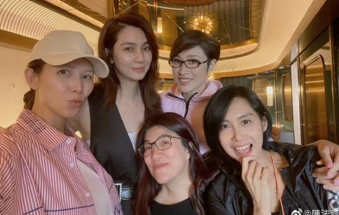 4 mỹ nhân hàng đầu Hong Kong hội ngộ