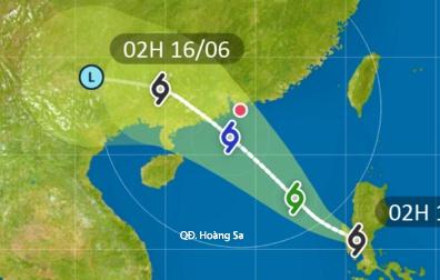 Áp thấp nhiệt đới quét qua Philippines, sắp vào Biển Đông