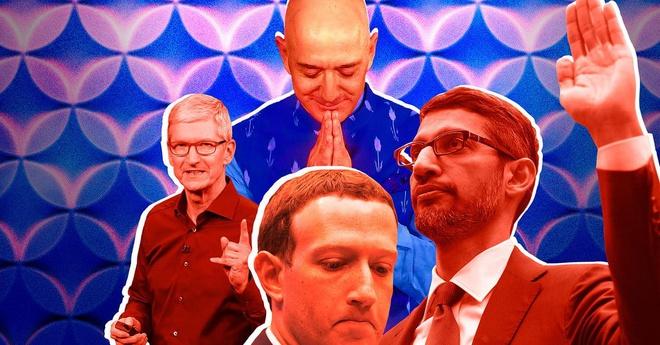 Màn điều trần quanh co, khôi hài của Google và Facebook
