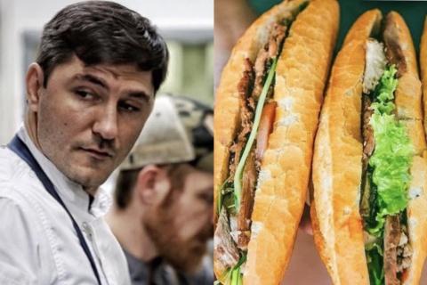 """Đầu bếp Mỹ viết sai từ """"bánh mì"""" chưa xin lỗi cô gái gốc Việt"""