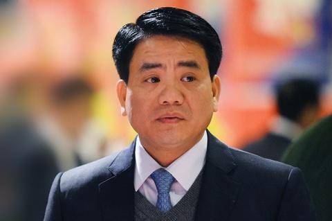 Ông Nguyễn Đức Chung bị đình chỉ công tác