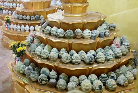 Nhận dạng hơn 190 hũ tro cốt ở chùa Kỳ Quang 2