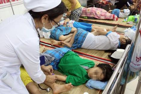 Hàng chục học sinh TP.HCM nhập viện nghi do ngộ độc thực phẩm