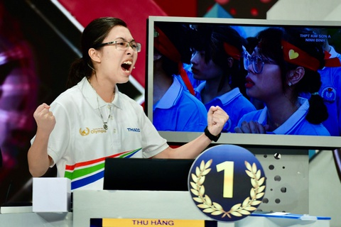 Cô gái duy nhất ở chung kết Olympia 2020 thi đấu ấn tượng