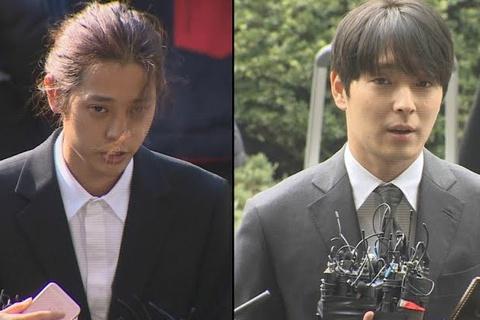 Jung Joon Young và Choi Jong Hoon lĩnh án tù