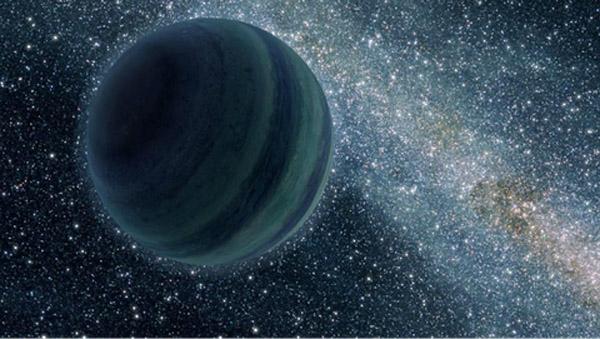 Một hành tinh đang trôi dạt ngoài vũ trụ