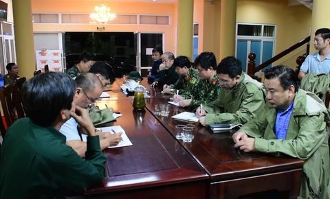 Lập ban chỉ huy giải cứu công nhân thủy điện Rào Trăng