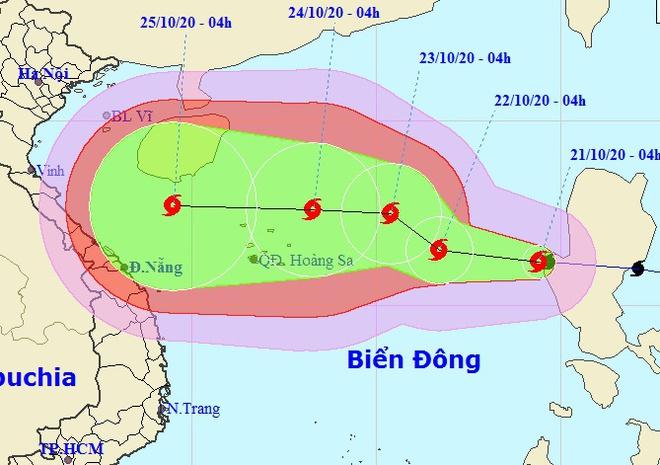 Bão số 8 - Saudel vào Biển Đông, mạnh lên từng ngày