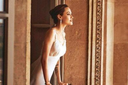 Angelina Jolie trong bộ ảnh cách đây 2 năm