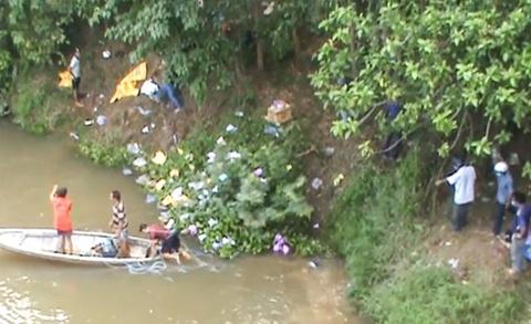 Phụ hồ lao mình xuống sông Lam cứu 3 người gặp nạn