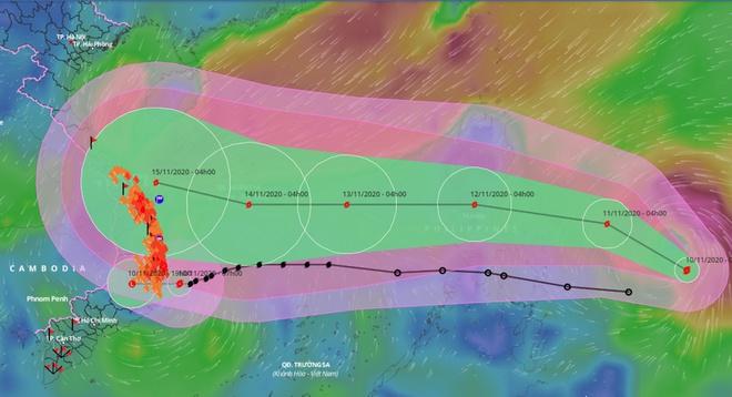 Bão số 12 suy yếu, miền Trung mưa rất lớn