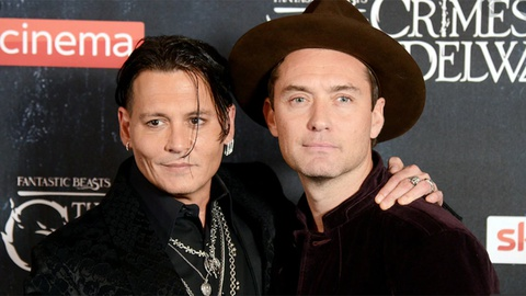 Jude Law nói về việc Johnny Depp trả vai phù thủy hắc ám