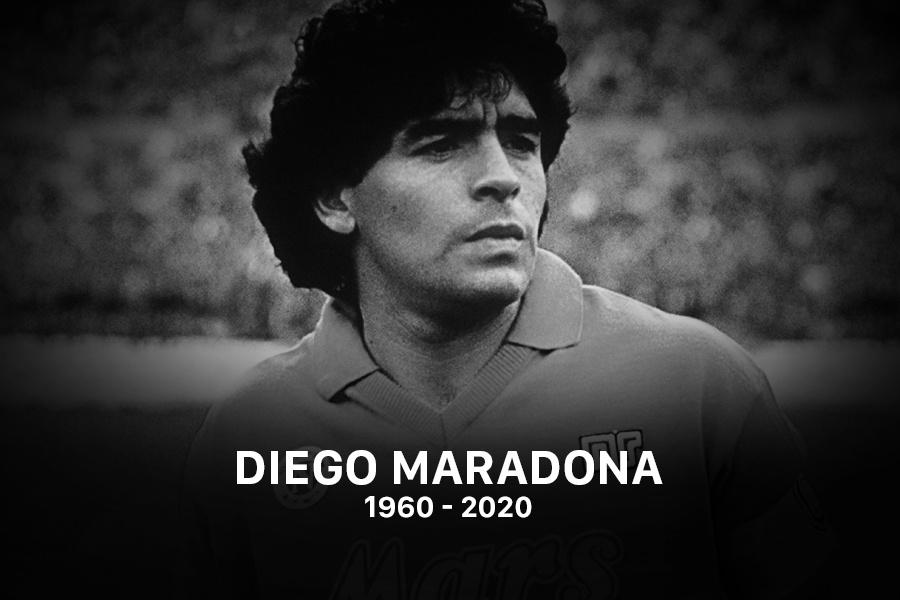 Diego Maradona qua đời ở tuổi 60