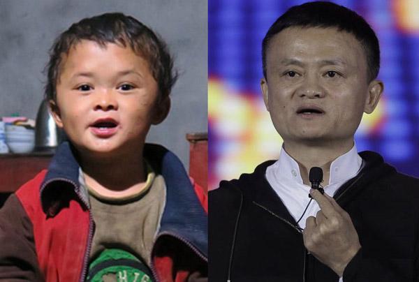Hào quang đã tắt của cậu bé có khuôn mặt giống Jack Ma