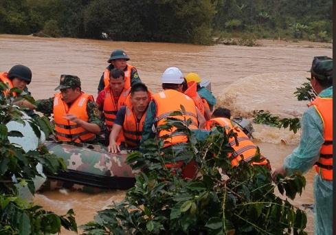 Tìm thấy thi thể một du khách bị nước cuốn trôi ở Lâm Đồng