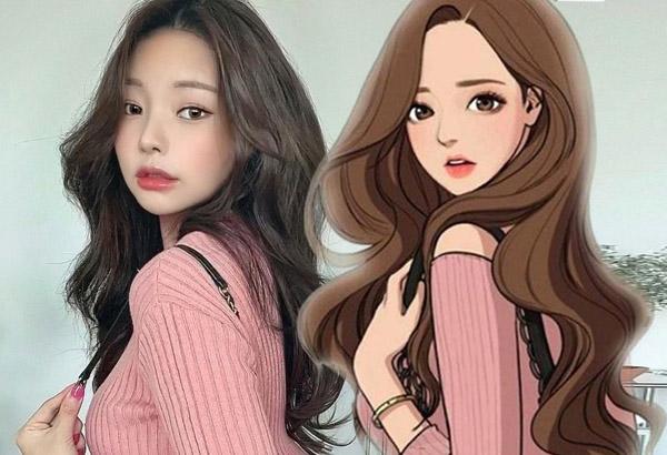 Cô gái Hàn nổi tiếng vì tài hóa trang giống truyện tranh