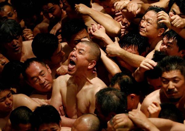 Lễ hội khỏa thân mừng năm mới ở Nhật phải thay đổi vì dịch